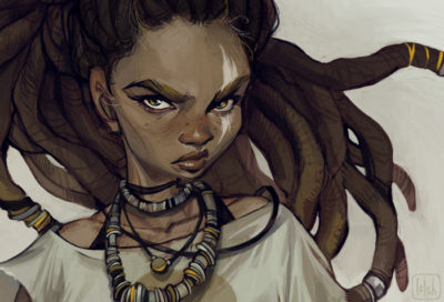 huntress detail, Lois van Baarle_02