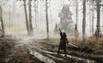 just another day at work… Sunday picnic, Jakub Rozalski_01