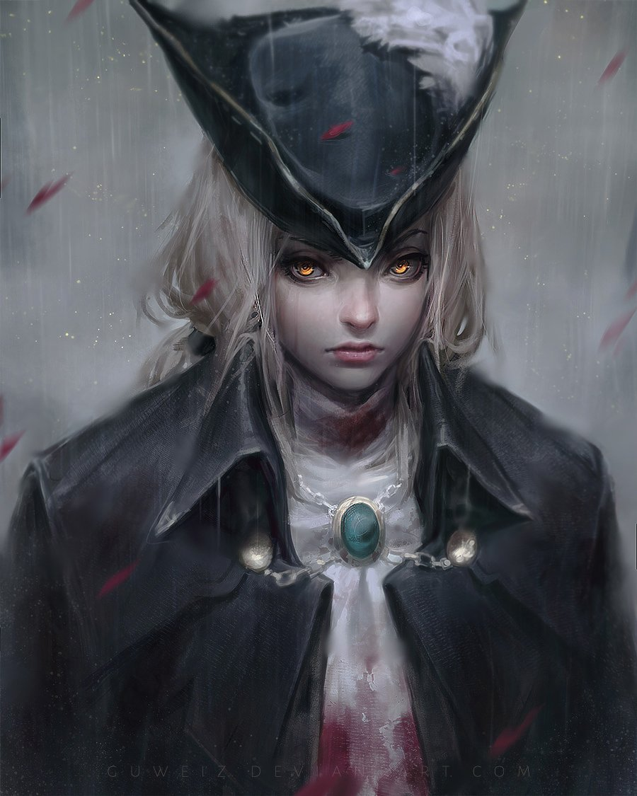__lady_maria_of_the_astral_clocktower_the_old_hunters_and_etc_drawn_by_guweiz__b36274b21326371af ...