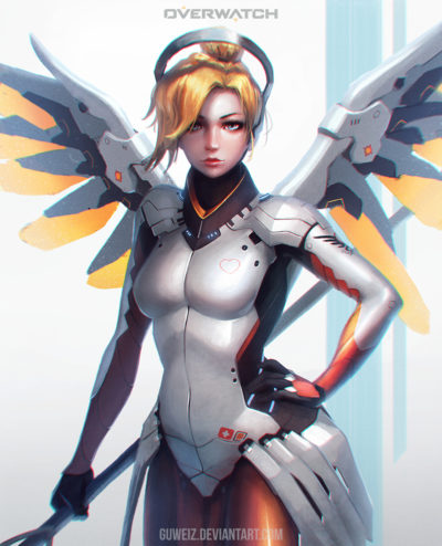 __mercy_overwatch_drawn_by_guweiz__0998fd8de0ed351ed56713181ac65b8a