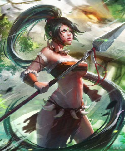 __nidalee_league_of_legends_drawn_by_guweiz__cefd756d7a0b84b54e8f2212ea5bbe75