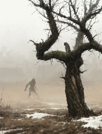 old apple tree, Jakub Rozalski_01