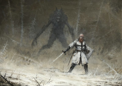wrong place, wrong god, Jakub Rozalski_01
