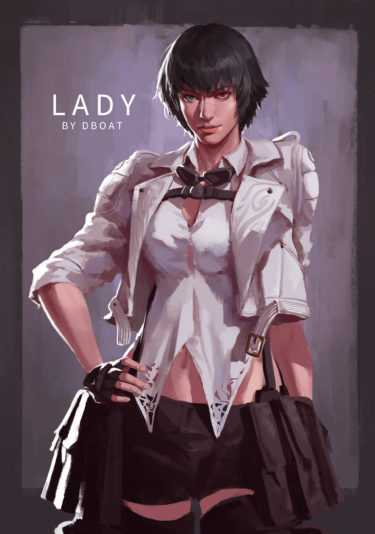 devil may cry LADY, by 江帆 杨