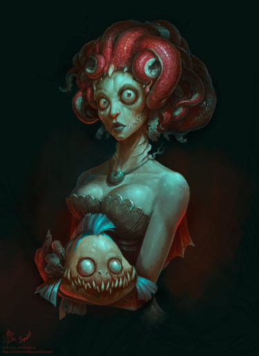 The Little Mermaid , by concept artist Tony Sart