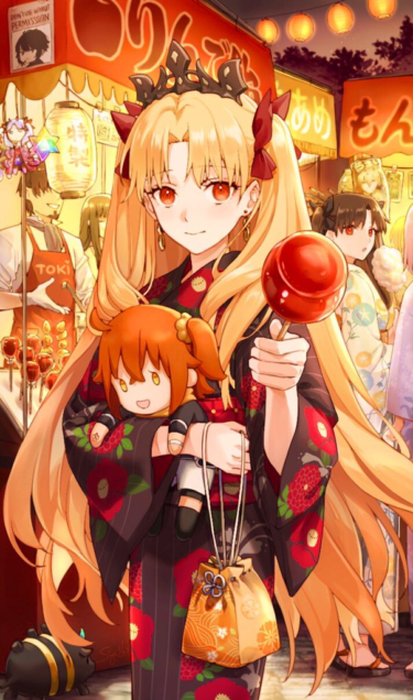 Fate/Grand Order yukata dress girl