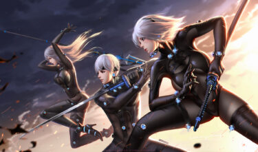 2B 9S A2  in Gantz inspired outfits