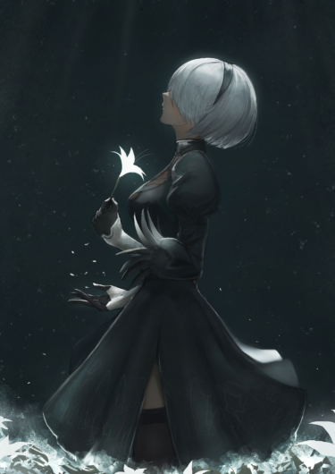YoRHa No.2 Type B fan art anime