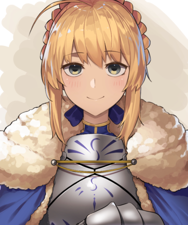 Saber, Fate/Grand Order anime illustration