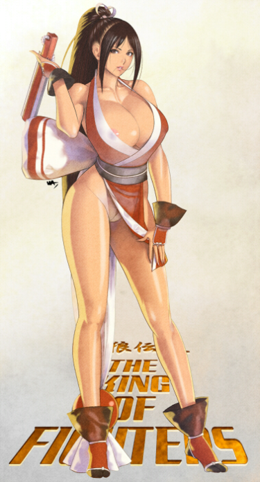 SNK, King of Fighters, ponytail girl