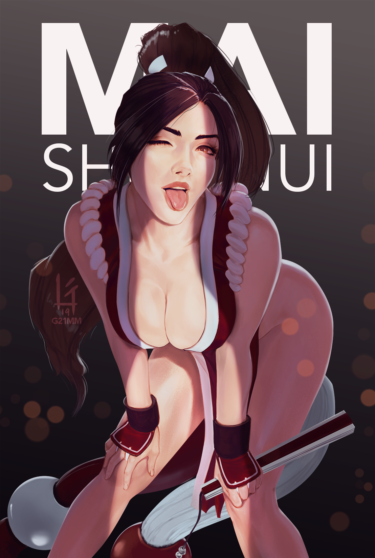 The King of Fighters, kunoichi, Oh mai goodness! illustration